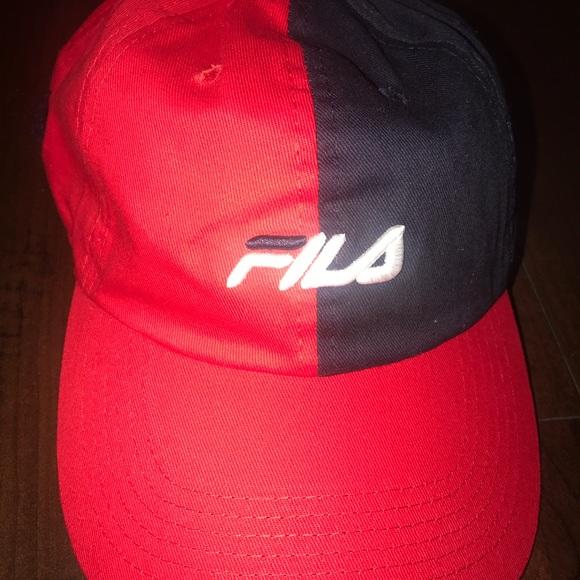 e13a4fde Fila Accessories   Baseball Dad Hat   Poshmark